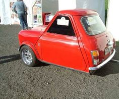 Never seen a 3 wheeler classic mini shorty before, look cool