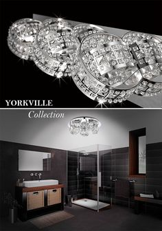 The Yorkville Collection Lighting Solutions, Other Rooms, Vanity Lighting, Bathroom Fixtures, Sconces, Ceiling Lights, Collection, Home Decor, Bathroom Accesories