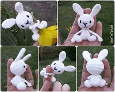 Mesmerizing Crochet an Amigurumi Rabbit Ideas. Lovely Crochet an Amigurumi Rabbit Ideas. Crochet Totoro, Crochet Diy, Crochet Amigurumi, Crochet Doll Pattern, Crochet Toys Patterns, Stuffed Toys Patterns, Amigurumi Doll, Doll Patterns, Homemade Toys