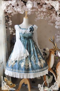 -The Kingdom of Fairies- Lolita OP Dress
