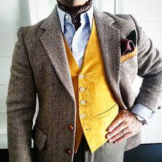 56e94326836c3 Feeling very country but not too western today. Wearing my beloved Harris  Tweed coat,