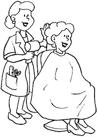 Occupations - 999 Coloring Pages People Coloring Pages, Colouring Pages, Coloring Sheets, Community Workers, Community Helpers, Education Clipart, People Who Help Us, Holiday Program, Clip Art Pictures