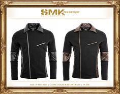 SMK DENIM&Co.: SMK DENIM&Co.   CASACO BLACK&CONTRAST   74.00€