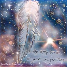 the only limit is your imagination ✨ ~ feather dreaming