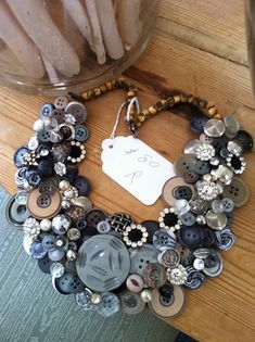 love this necklace.  could be made into a really cool wreath