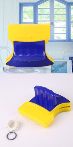 Hot Magnetic Window Cleaner Double Side Glass Wiper Cleaner Surface Useful Brush free shipping