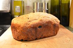 Lately I've been making the previous recipe as it was intended, as a raisin bread. I must say, it is absolutely delicious and the family g. Wholemeal Bread Recipe, Multigrain, Raisin Bread, Banana Bread, Bread Machine Recipes, Bread Recipes, Moon, Baking, Desserts