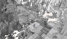 ArtStation - Water Temple II - Adventure RPG Game, Adrien Girod