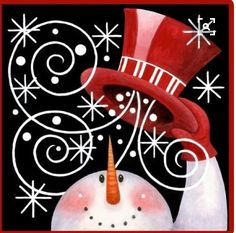 Christmas Snowman Painting On Canvas Christmas Signs, Christmas Snowman, Winter Christmas, All Things Christmas, Christmas Decorations, Christmas Ornaments, Christmas Rock, Snowman Crafts, Christmas Projects