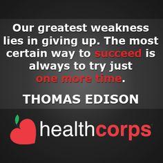 #success #thomasedison #advice #quote