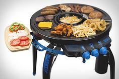 360 degre, 360 parti, hub grillfryer, stuff, barbecues