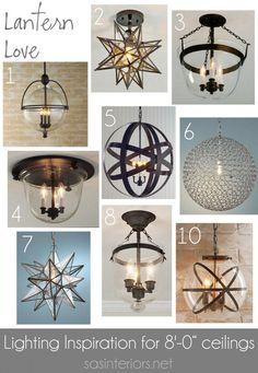 Lantern Love Creative Vision Board by @Jenna_Burger of sasinteriors.net