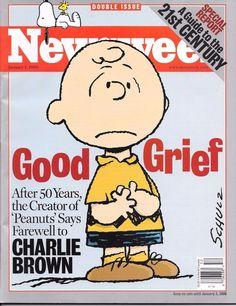 January 1, 2000 NEWSWEEK MAGAZINE PEANUTS SNOOPY CHARLIE BROWN - NO LABEL