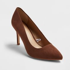 Women's Shades of Nude Pointed Toe Pumps - A New Day™ : Target