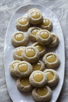 Rosemary Thumbprints with Clementine Curd and The Day I Went to Ina Garten's Cookie Swap (What?!) > Willow Bird Baking