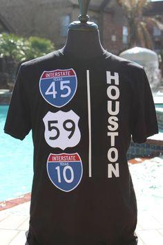 Custom State Shirt - Made Paid T Shirt - Mens Graphic Tee - State Flag Shirt - Home Grown Tee - Texas State Shirt - Highway Sign Design