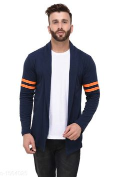 Checkout this latest Shrugs Product Name: *Stylish Men's Cotton Shrug* Fabric: Cotton Sleeve Length: Long Sleeves Pattern: Printed Multipack: 1 Sizes:  S, M, L, XL, XXL Country of Origin: India Easy Returns Available In Case Of Any Issue   Catalog Rating: ★3.9 (297)  Catalog Name: Men's Upstyle Cotton Shrugs CatalogID_203387 C70-SC1469 Code: 623-1564025-057