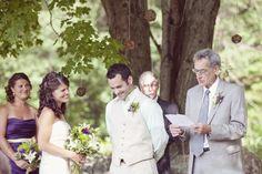 New Hampshire Backyard Wedding: Leia + Jon