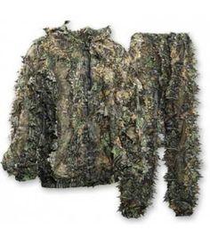 Deer Hunter sneaky pull over 3D camouflage set,3D camo kleding, jacht outdoor