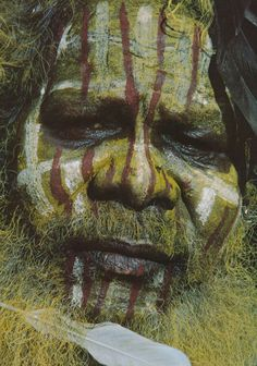 Aboriginal Face Painting in West Australia. Aboriginal History, Aboriginal Culture, Aboriginal People, Aboriginal Art, Aboriginal Tattoo, We Are The World, People Around The World, Amédéo Modigliani, Australian Aboriginals
