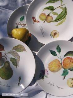 © Marimerveille - peinture sur porcelaine (cuisson haute température) Collection…