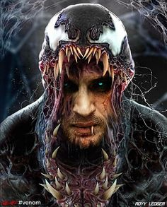 """You are watching the movie Venom on Putlocker HD. When Eddie Brock acquires the powers of a symbiote, he will have to release his alter-ego """"Venom"""" to save his life. Venom Comics, Marvel Comics, Marvel Venom, Marvel Villains, Marvel Comic Universe, Comics Universe, Marvel Art, Marvel Heroes, Marvel Avengers"""