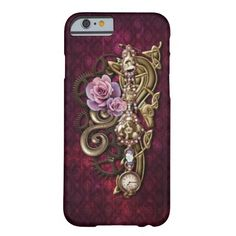 Steampunk Girly iPhone 6 case