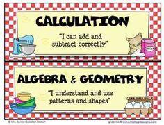 Math CAFE Menu FREEBIE