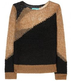 91791544d8701f Alice + Olivia OPAL METALLIC KNIT PULLOVER - ShopStyle Crewnecks &  Scoopnecks