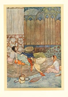 Stories from the Arabian nights [1911 edition] illustrated by Edmund Dulac