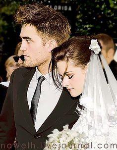 Robert Pattinson Twilight Wedding | RobSten wedding - robert-pattinson-and-kristen-stewart Fan Art