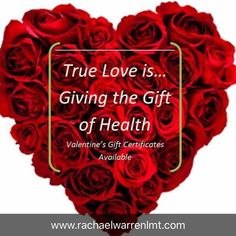 Hello February! Gift the gift of health to your loved ones this Valentine's Day with massage therapy gift certificates! #visithotsprings
