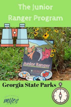 The Junior Ranger program at Georgia State Parks is the best and most affordable way to get kids outside and exploring!  #JuniorRanger #GeorgiaStateParks