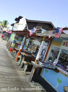 John's Pass Village & Boardwalk in Madeira Beach, Florida.