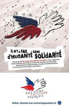 """Une campagne """"solidaire"""" pour le secours populaire !"""