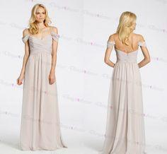 Bridesmaid Dress,sexy Bridesmaid Dress ,Full Length Bridesmaid Dress ,Sleeveless Bridesmaid Dress,ch on Luulla