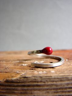 Hey, I found this really awesome Etsy listing at https://www.etsy.com/listing/177266629/valentines-bright-red-ring-matchstick