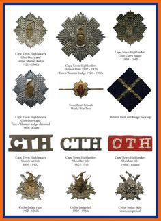 Cape Town Highlanders British Soldier, British Army, Military Life, Military History, Commonwealth, Tam O' Shanter, West Africa, South Africa, Military Insignia