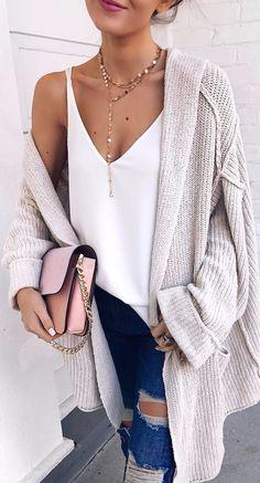 knit + tank top: ootd details