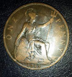 1919 Heaton mint penny.