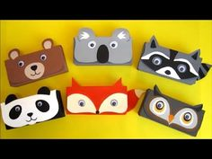DIY Pencil Case | Back to School Craft | Recycled Crafts Ideas For Kids | Recycle Cereal Box - YouTube