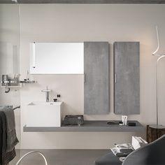 Meubles salle de bains Unique Archi 180 Delpha | Espace Aubade