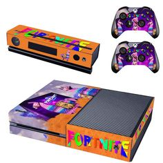 Faceplates, Decals & Stickers Nice Skulls Xbox One S 3 Sticker Console Decal Xbox One Controller Vinyl Skin Delicacies Loved By All