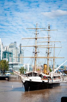 Sail Our Seas will make a pit-stop in Buenos Aires - and maybe layover in this port. Puerto Madero in Buenos Aires - super rad! Great Places, Beautiful Places, Places To Visit, Largest Countries, Countries Of The World, Central America, South America, Southern Cone, Art Nouveau Arquitectura