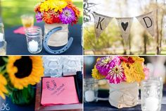 easiest western rehearsal decoration every | Themes that Rock for your Rehearsal Dinner | Rehearsal Dinner Guide