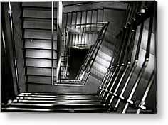 Don't Look Back Acrylic Print by Cesare Bargiggia