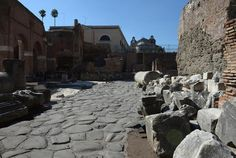 The ancient Vicus Iugarius, or street of the Yoke-makers, in the Roman Forum has reopened after a four-year restoration