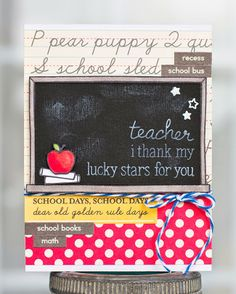 Paper Lulu: Teacher, I thank my lucky stars for you
