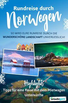🏔️Alle Tipps, Infos und Routenvorschläge für eine Rundreise durch Norwegen findet ihr in meinem Reisemagazin. Viel Spaß! #norway #roadtrip #nature #outdoor #explore #inspiration #skandinavien #reisemagazin #reiseführer #fjord #travel #fernweh Lofoten, Norway Roadtrip, Travel Magazines, Round Trip, Van Life, Sweden, Have Fun, Fjord, Europe
