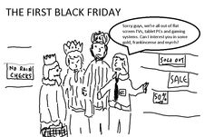 The First Black Friday